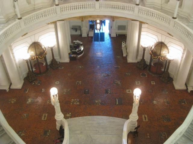 Harrisburg Capitol Rotunda Stairs